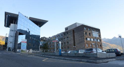 Briançon Escartons Hospital, France