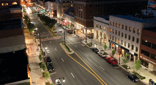 Five Ways LED Lighting is Transforming America's Downtowns