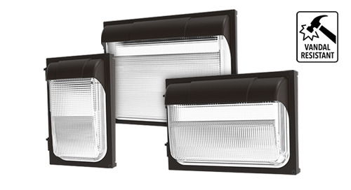 TWPX LED Polycarbonate Wall Pack Luminaires