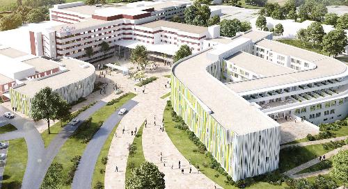 The North West Hospital, Lyon, France