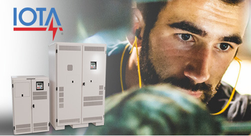 Preventative Maintenance Plans Available for IOTA® IIS Central Inverters