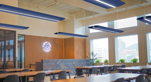How Lighting Can Address Acoustic Control in the Modern Office Setting