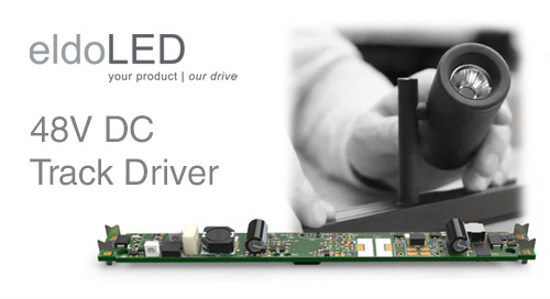 High-Quality Dimming and Flicker Performance with the New eldoLED 48V DC Track Driver!