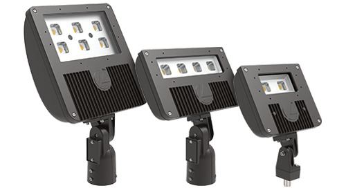 D-Series Flood Size 2 – Now Delivers 17,000 Lumens and Offers New Slipfitter and MVOLT Photocell