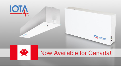 IOTA® IIS 125 Inverters Now cUL Listed for Canada!