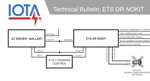 IOTA® Technical Bulletin: ETS DR NOKIT