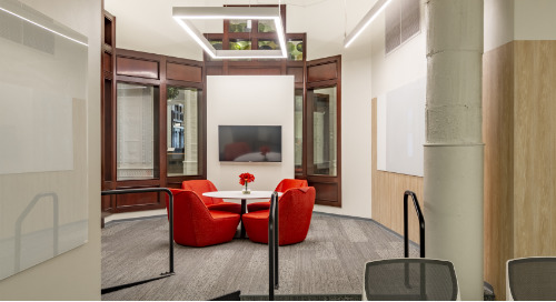 Contemporary variable lighting showcased at local AIA Resource Center