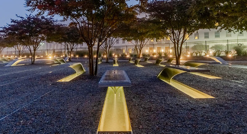 Lighting Upgrade Enhances Safety and Enriches Beauty of 9/11 Pentagon Memorial