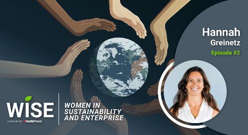 New Women in Sustainability and Enterprise Podcast Episode: Hannah Greinetz