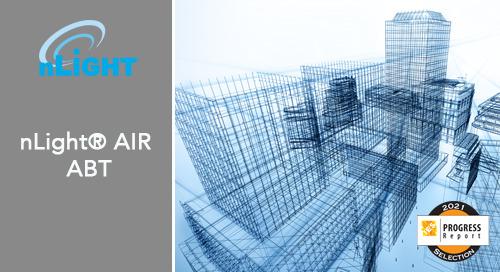 nLight® AIR Autonomous Bridging Technology (ABT) Selected for the 2021 IES Progress Report