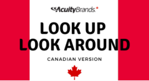 Look Up Look Around - Canadian version