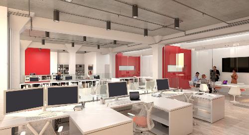 UV Light Disinfection Technology for Commercial Office