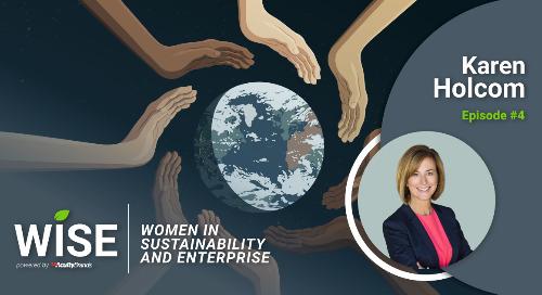 New Women in Sustainability and Enterprise Podcast Episode: Karen Holcom