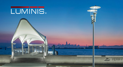 Waterfront lighting design pays tribute to illustrious art deco past while safeguarding the environment