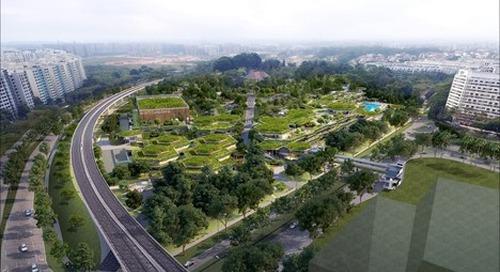 Sembawang Hub intégré (Bukit Canberra)  - Singapour, Singapour