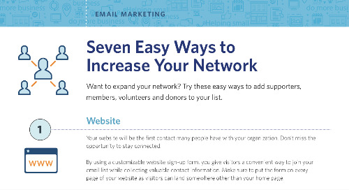 Seven Easy Ways to Increase your Network