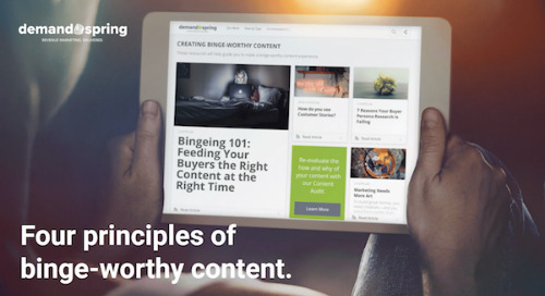 4 Principles of Binge-Worthy Content