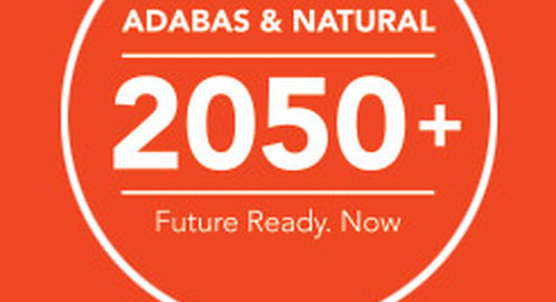 Announcing the new Adabas & Natural agenda