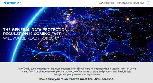 GDPR: Are you ready for 2018?