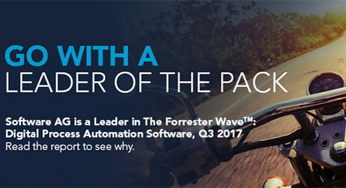 Forrester Wave™: Digital Process Automation Software, Q3 2017
