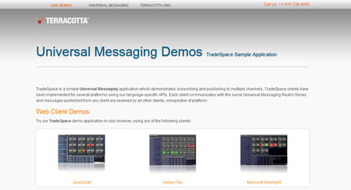 Demo showcase: Universal Messaging
