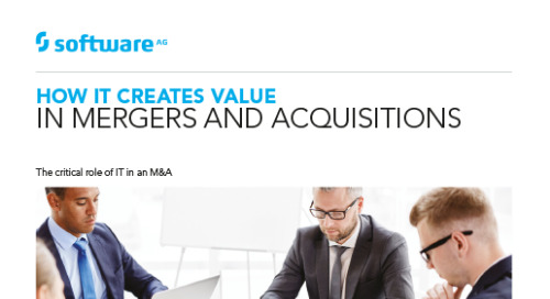 How IT Creates Value in M&As