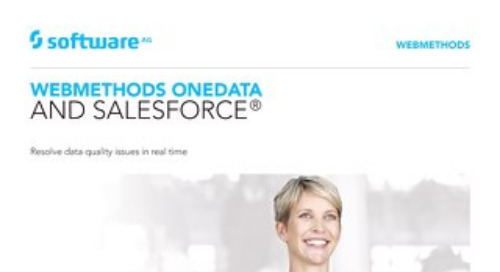 OneData and Salesforce®