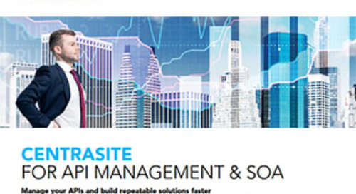 CentraSite for API Management and SOA