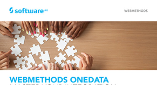 Get the facts about webMethods OneData