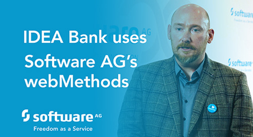Idea Bank uses Software AG´s webMethods