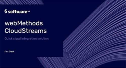 webMethods CloudStreams