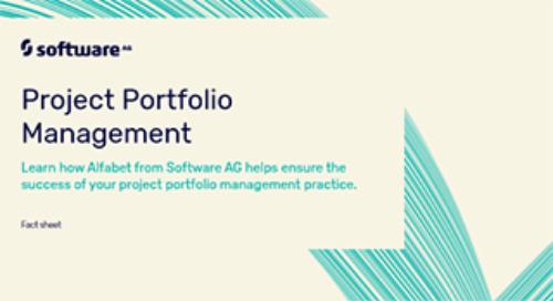 Alfabet for Project Portfolio Management