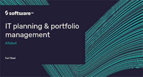 Alfabet IT Planning & Portfolio Management