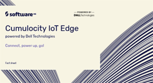 Cumulocity IoT Edge powered by Dell Technologies