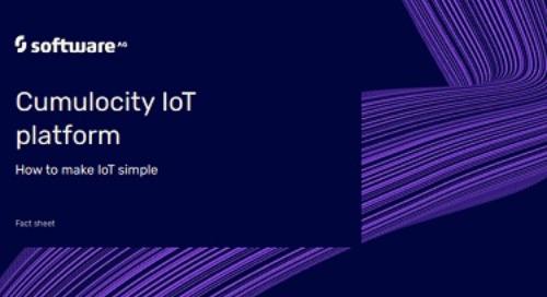 Facts about Cumulocity IoT Platform