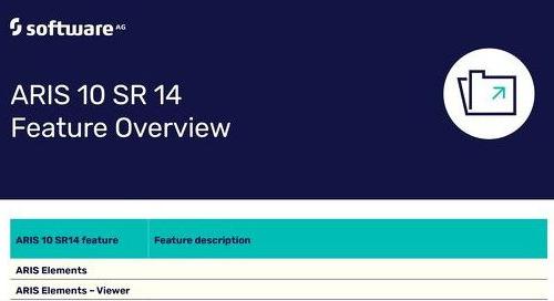 ARIS 10 SR14 Features Overview