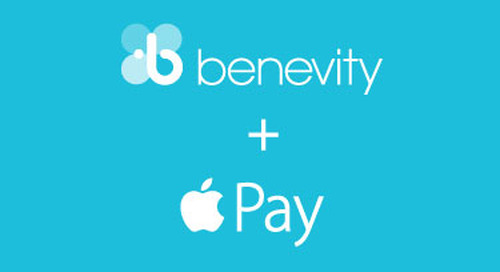 Benevity is Excited to Support the Launch of Apple Pay for Nonprofits