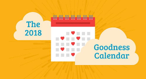 The 2018 Benevity Goodness Calendar