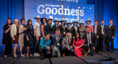 Hats Off to the 2018 Corporate Goodness Award Winners