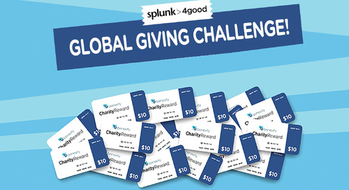 How Splunk's First Giving Campaign Turned a Modest Budget into Major Impact