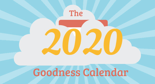 The 2020 Benevity Goodness Calendar