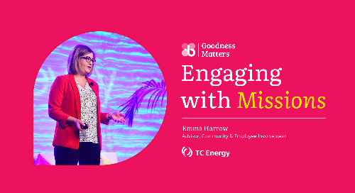 How TC Energy Used Missions to Increase Impact and Engage More Employees