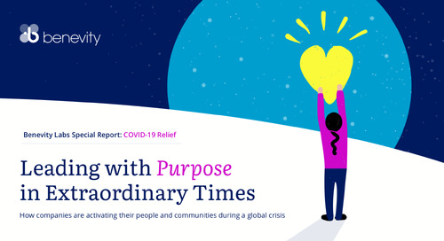Leading with Purpose in Extraordinary Times