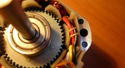 For the Professional Maker: Choose the right motor type for your build