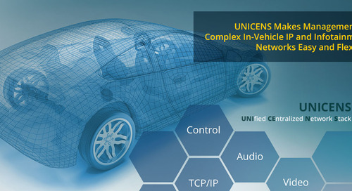 Seamless control of automotive networks