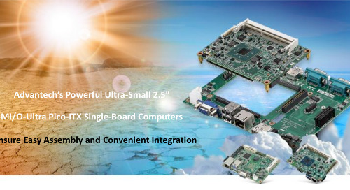 "Advantech's Powerful Ultra-Small 2.5"" MI/O-Ultra Pico-ITX Single-Board Computers"