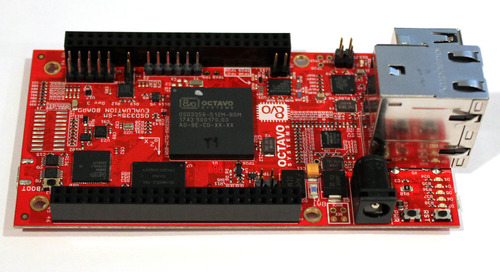 For the Professional Maker: Hands-on with the OSD3358-SM-RED single-board computer