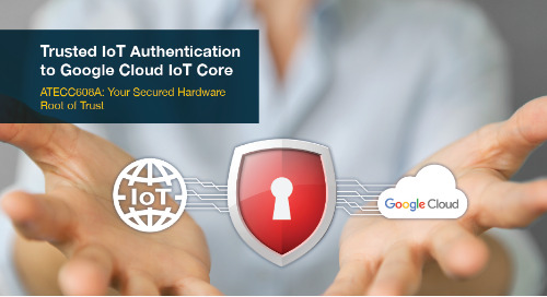 Trusted IoT authentication to Google Cloud IoT Core