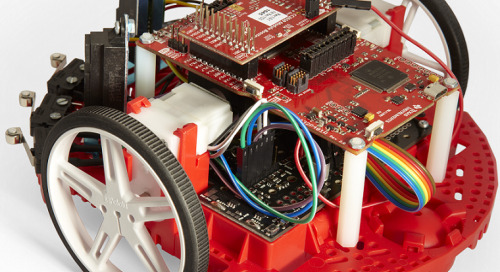 TI Robotics System Learning Kit available from element14