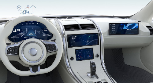 New frontiers in automotive HMI and display design